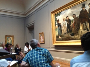 Investigating artist intent and practicing Thinking Routines at the National Gallery